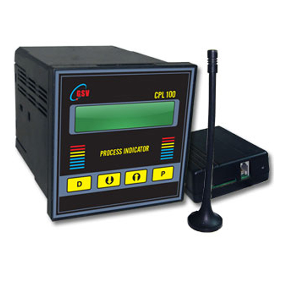 Process Indicator with GSM Communication