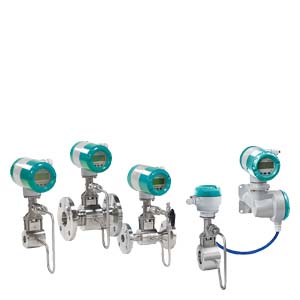 SITRANS FX300 Single transmitter with flange configuration Vortex Flow Meters