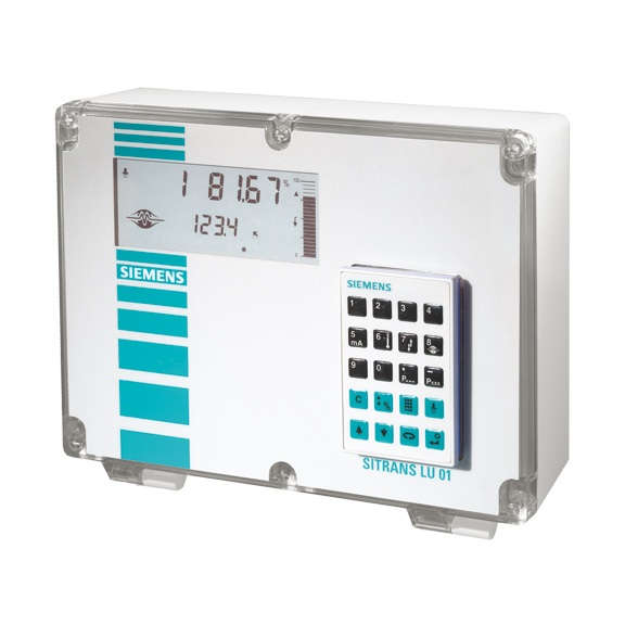 SITRANS LU01 and LU02 ultrasonic long-range level controller Siemens
