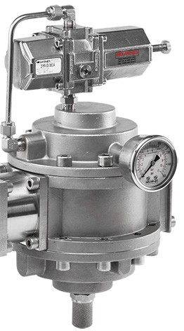 MIDLAND ACS MODEL 3575 - STAINLESS STEEL PRESSURE REGULATOR MIDLAND