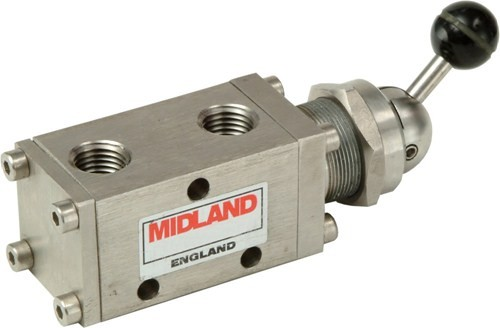MIDLAND ACS MODEL 1500 - STAINLESS STEEL SPOOL VALVE