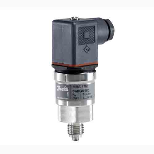 MBS 1700, Pressure transmitter for general purpose Danfoss