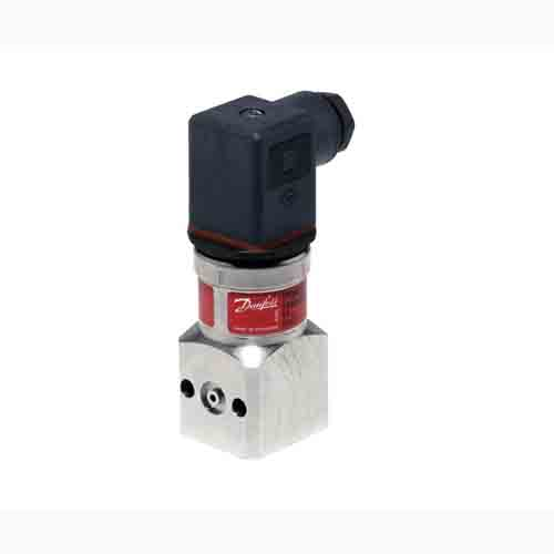 MBS 2150, Pressure transmitters for marine and high temperature with pulse snubber Danfoss