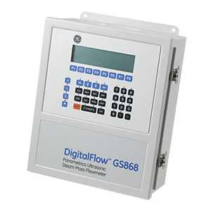 DigitalFlow™ GS868 Steam Mass Ultrasonic Flow Meter GE Mesurement