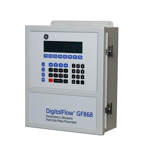 DigitalFlow GF868 Flare Gas Mass Ultrasonic Flow Meter GE Mesurement