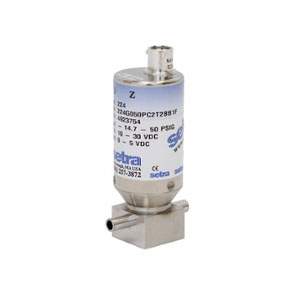 Model 224 Ultra High Purity Flow Through Pressure Sensor setra