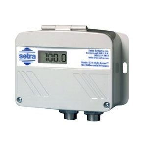 Model 231 Wet-to-Wet Differential, Multi-Configurable Pressure Transducer