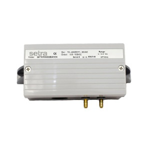 Model 267MR Multi-Range Low Differential Pressure Transducer setra