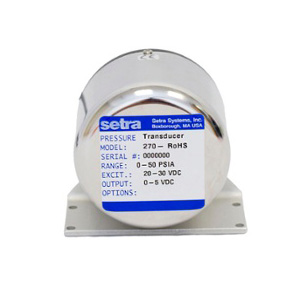 Model 270 SETRACERAM™ for Barometric, Gauge or Absolute Pressure setra