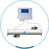 Clamp-On Type Ultrasonic Flow Meter : ASIONIC 200C