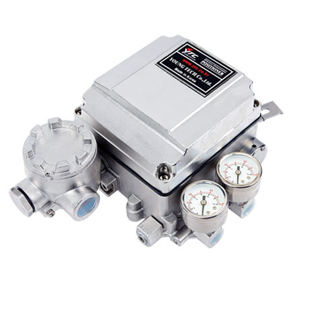 YT-1050 Series Electro Pneumatic Positioner for Pneumatic Valve Actuators Young Tech Co.,Ltd. (YTC)
