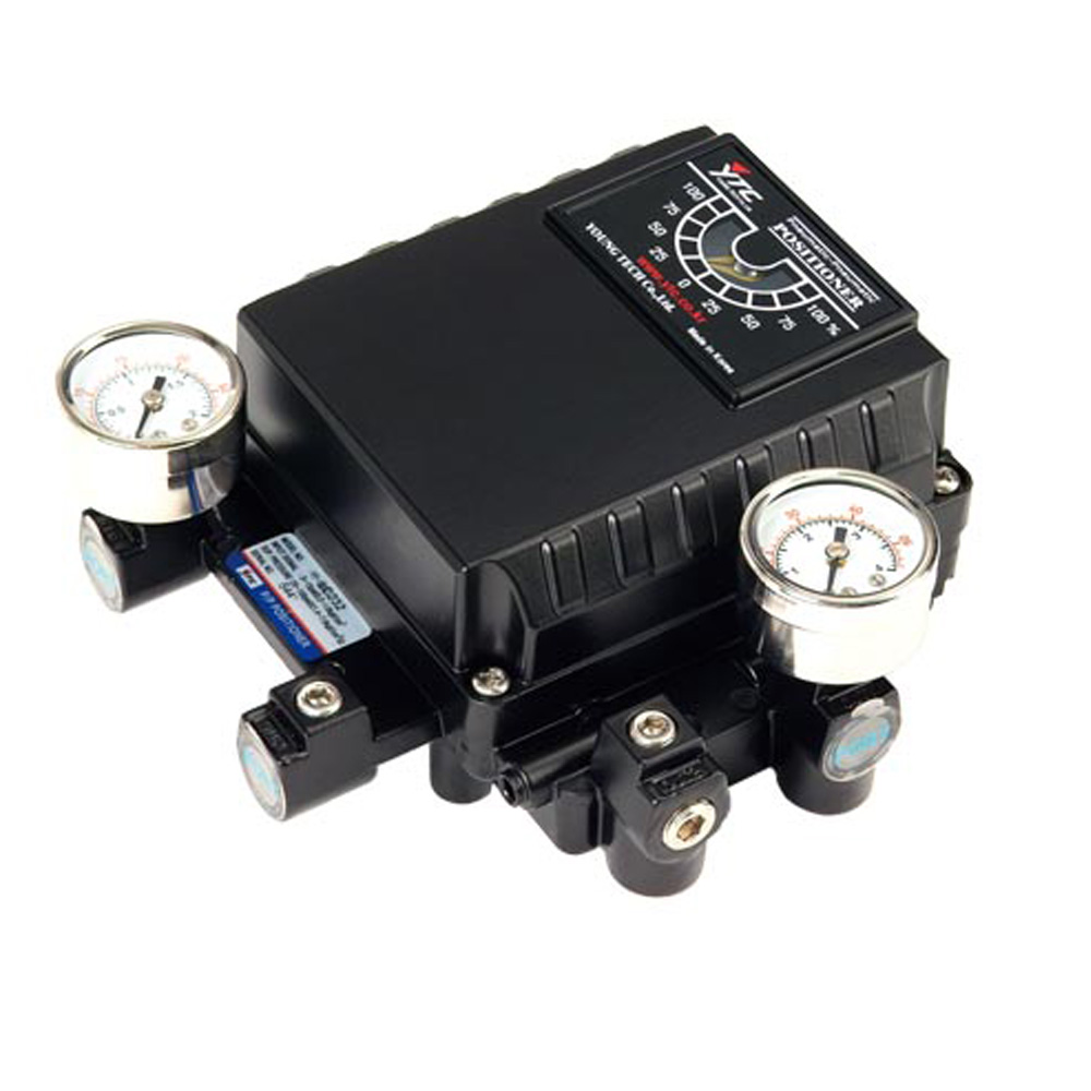 Rotork YT-1200R Series Pneumatic Positioner for Pneumatic Valve Actuators