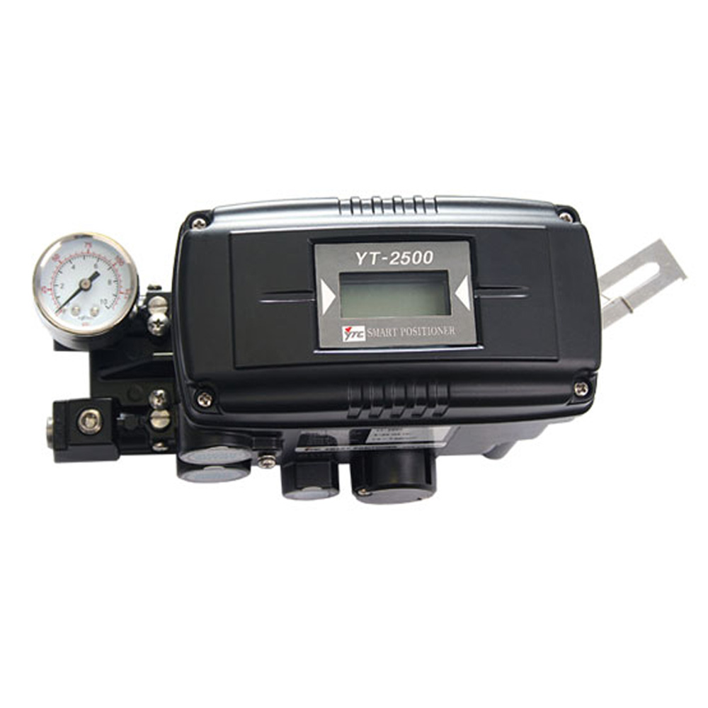 YT-2500, YT-2550 Series Electro Pneumatic Smart Valve Positioner for Valve Stroke Control