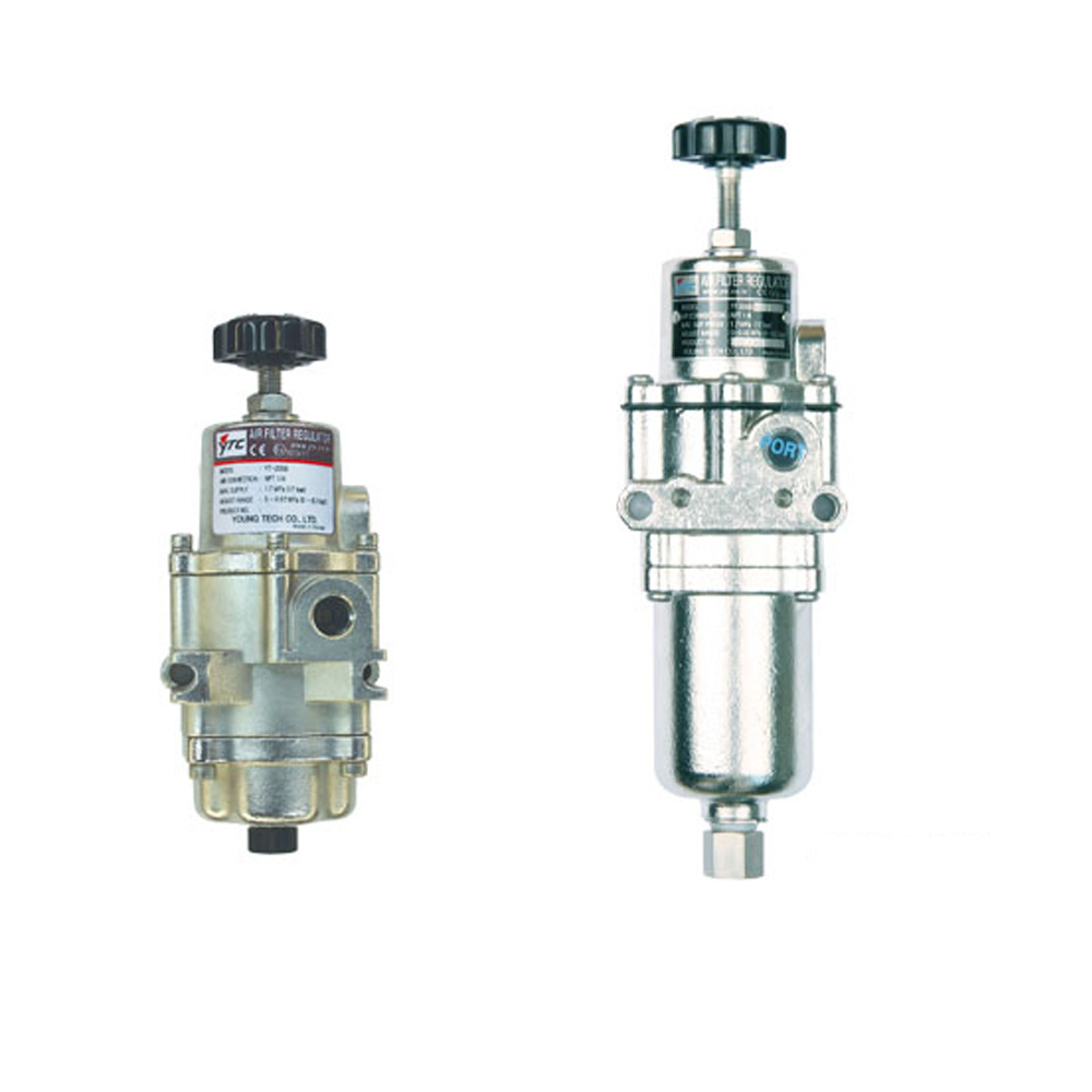 YT-205 Series Pneumatic Air Filter Compressor and Regulator Young Tech Co.,Ltd. (YTC)