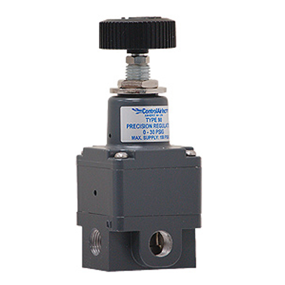 Type 90 Miniature Precision Pneumatic Air Pressure Regulator ControlAir