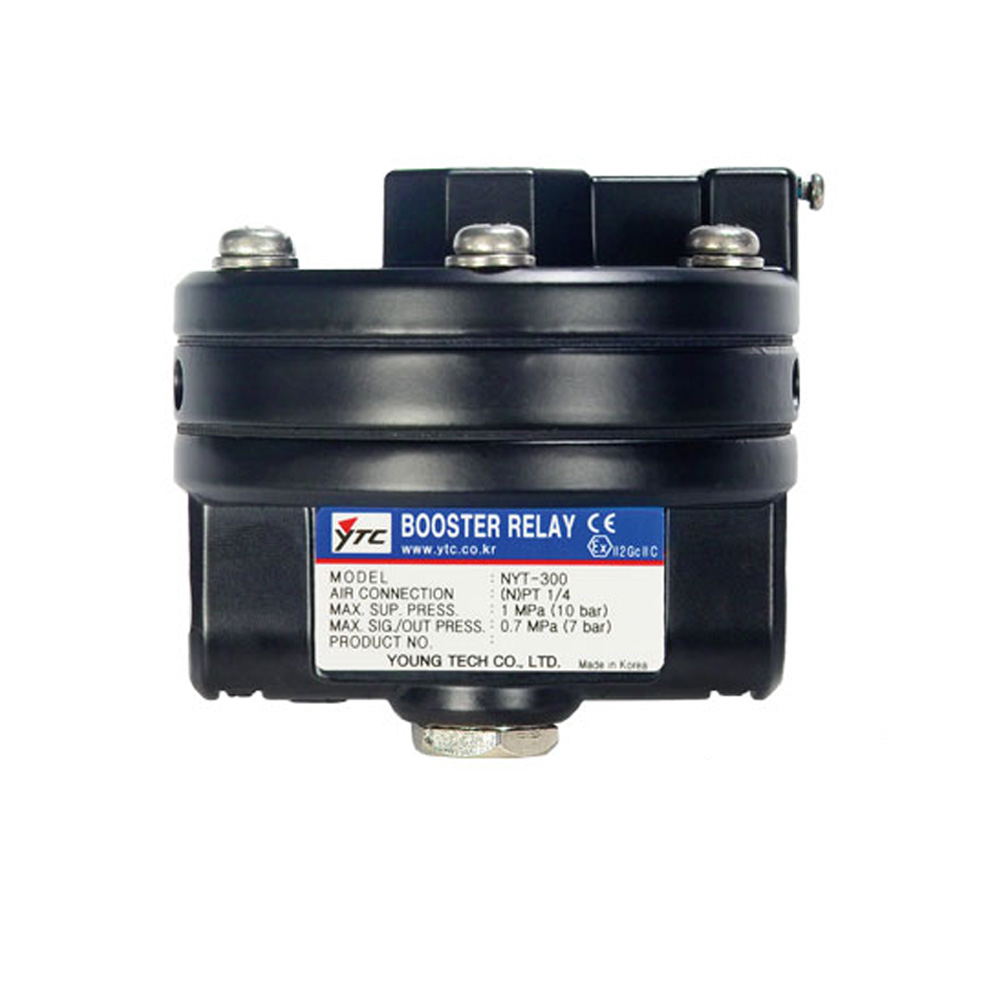 YT-300 Series Pneumatic Volume Booster Relay for Valve Positioner Young Tech Co.,Ltd. (YTC)