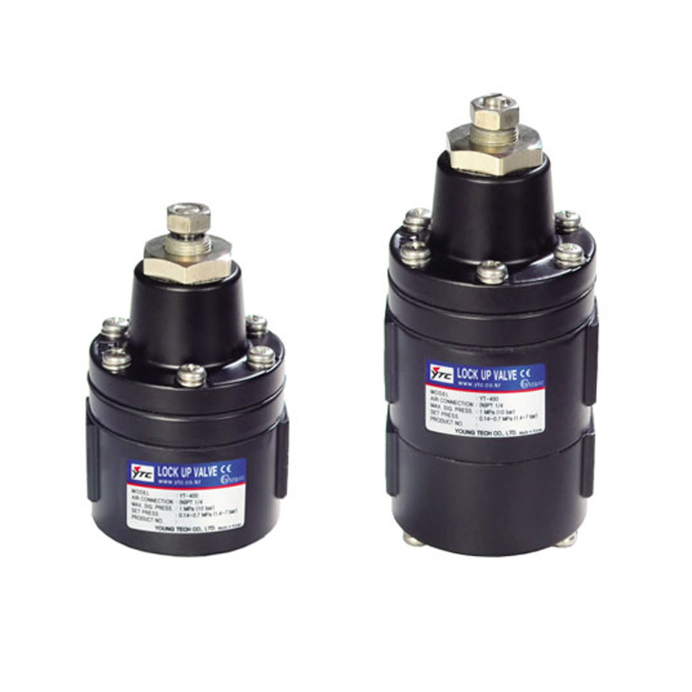 YT-400 Series Pneumatic Lock Up Relay Control Valve Young Tech Co.,Ltd. (YTC)
