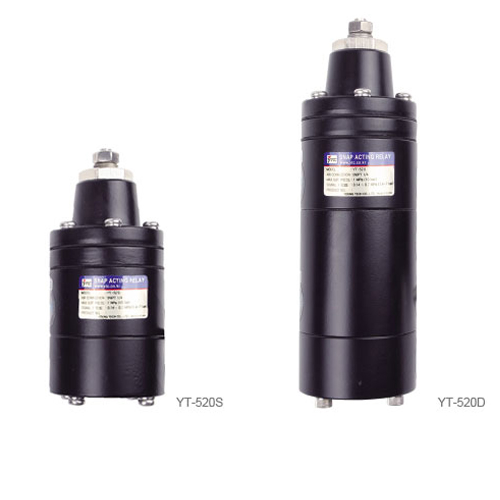 YT-520 Series Snap Acting Pneumatic Relay Young Tech Co.,Ltd. (YTC)