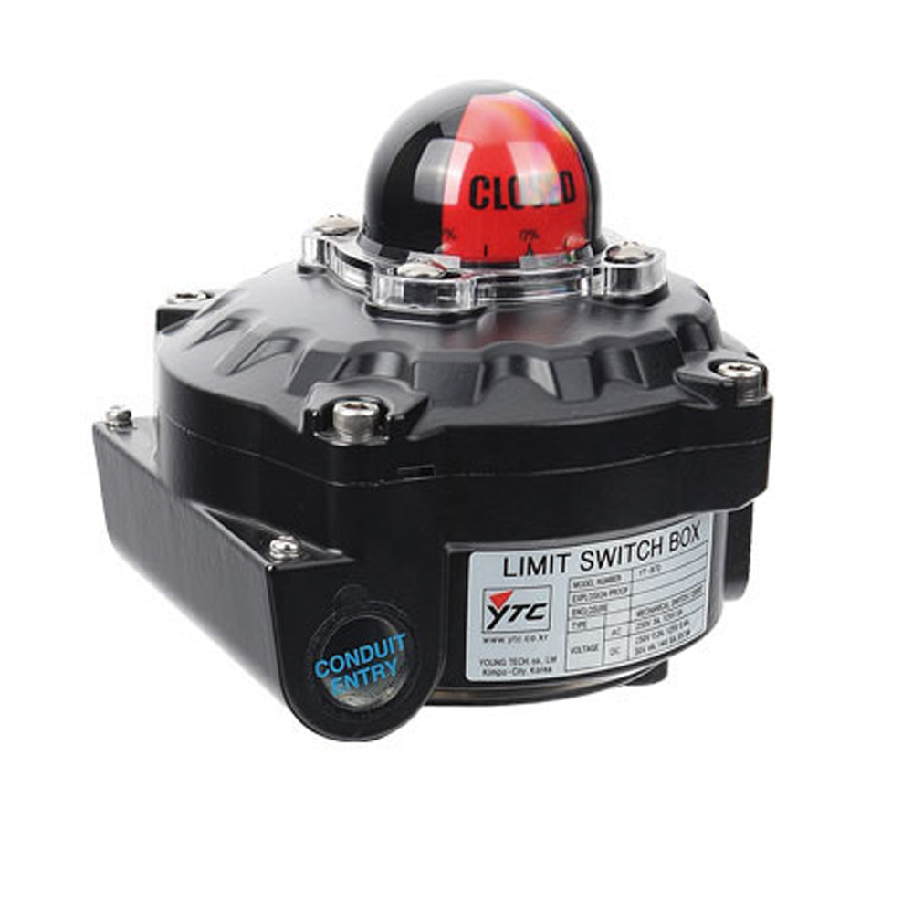 YT-870 Series Pneumatic Limit Switch Valve Actuator Young Tech Co.,Ltd. (YTC)