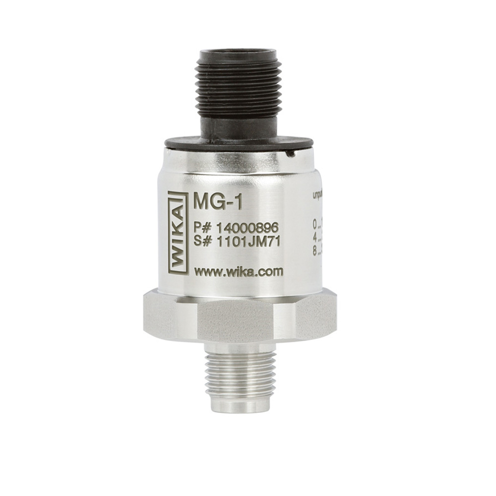 Pressure transmitter with output signals CANopen® and J1939 Wika