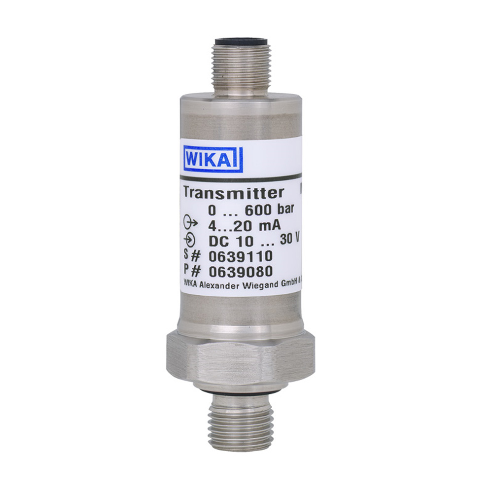 Pressure Transmitter with thin film technology Wika