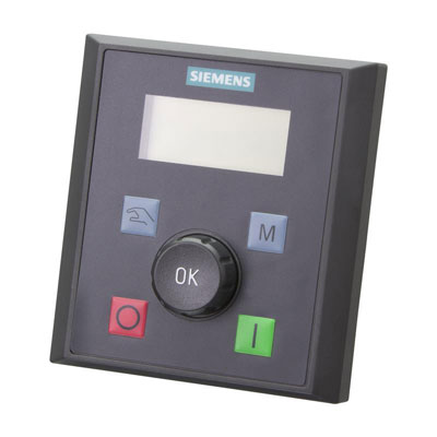 BOP-interface Siemens SINAMICS V20 - 6SL3255-0VA00-4BA1 (VFD)