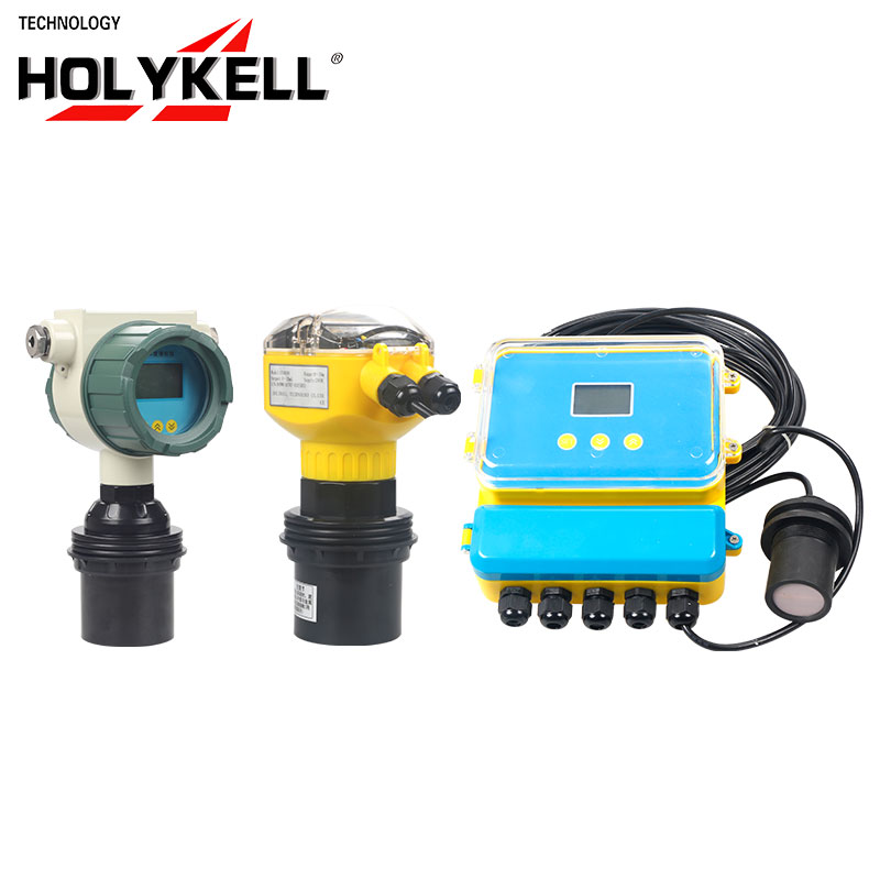 Holykell OEM Non contact cheap Waterproof ultrasonic liquid water fuel level sensor UE3003 ABB