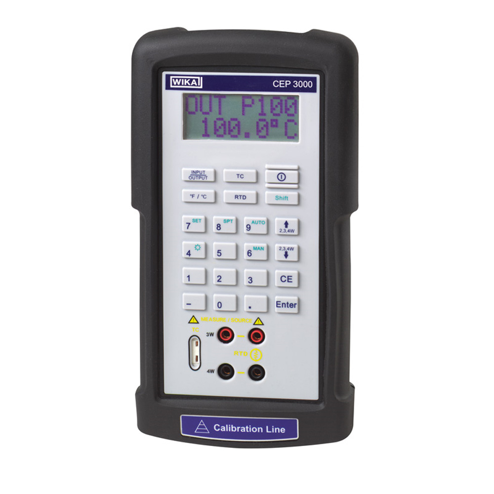 Hand-held temperature calibrator