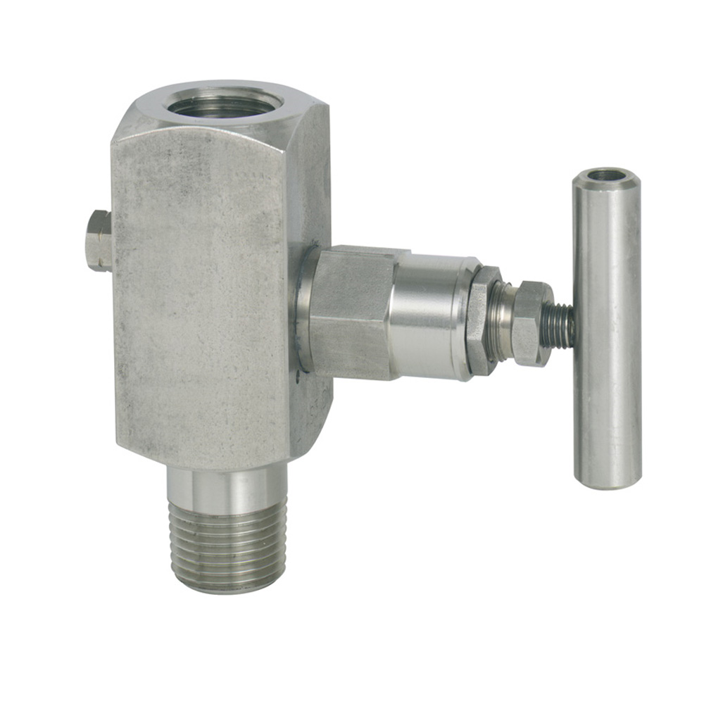 Barstock valve in stainless steel version