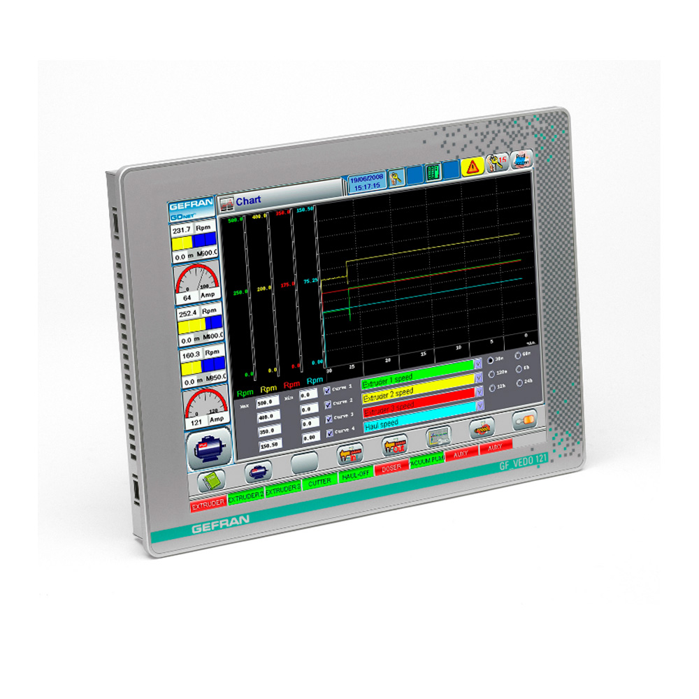 Operator terminal with touch screen / panel-mount / 800 x 600 / Intel® Celeron® GF_VEDO HL 121CT HMI