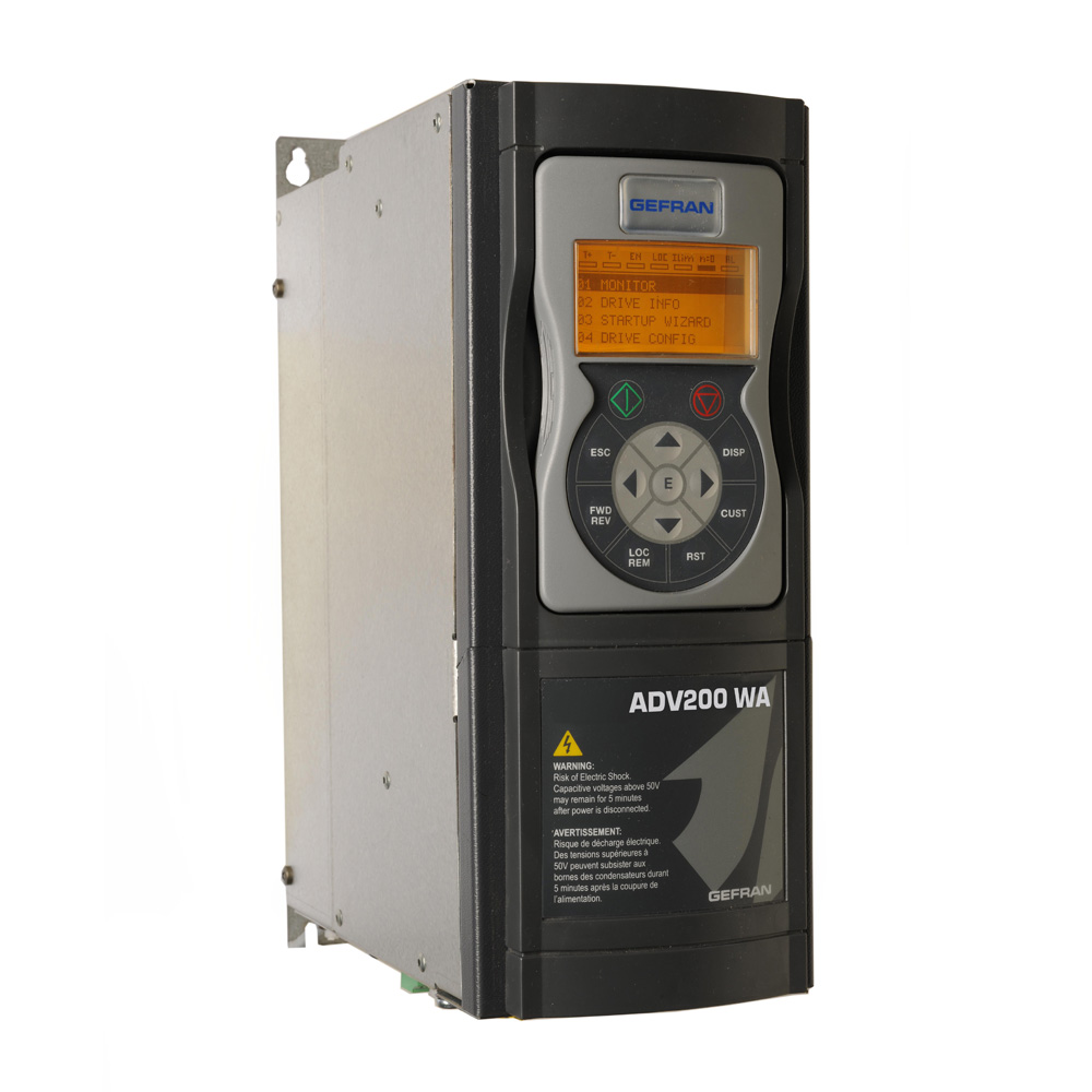 Vector inverter for Water Treatment and HVAC systems ADV200 WA