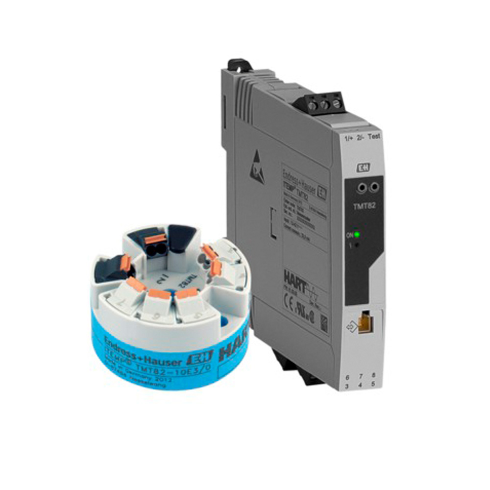 Temperature field transmitter - iTEMP TMT82 HART Protocol