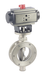 Teflon Seated Butterfly Valve Pneucon Automation