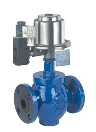 GLOBE 2 WAY VALVE (Piston Operated Valve) Pneucon Automation