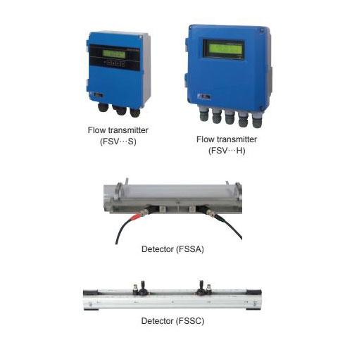 Ultrasonic Flowmeter Time Delta FSV, FSS, FLY