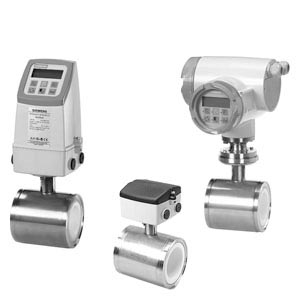 Sitrans MAG 1100 and MAG 1100 HT Magnetic Flow sensor Flow Meter