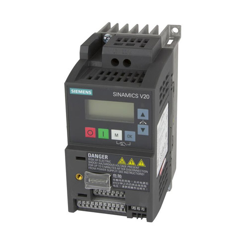 Variable frequency drive Siemens SINAMICS V20 - 6SL3210-5BB17-5BV1 (VFD)