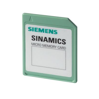 SD-card Siemens SINAMICS - 6SL3054-4AG00-2AA0 (VFD)