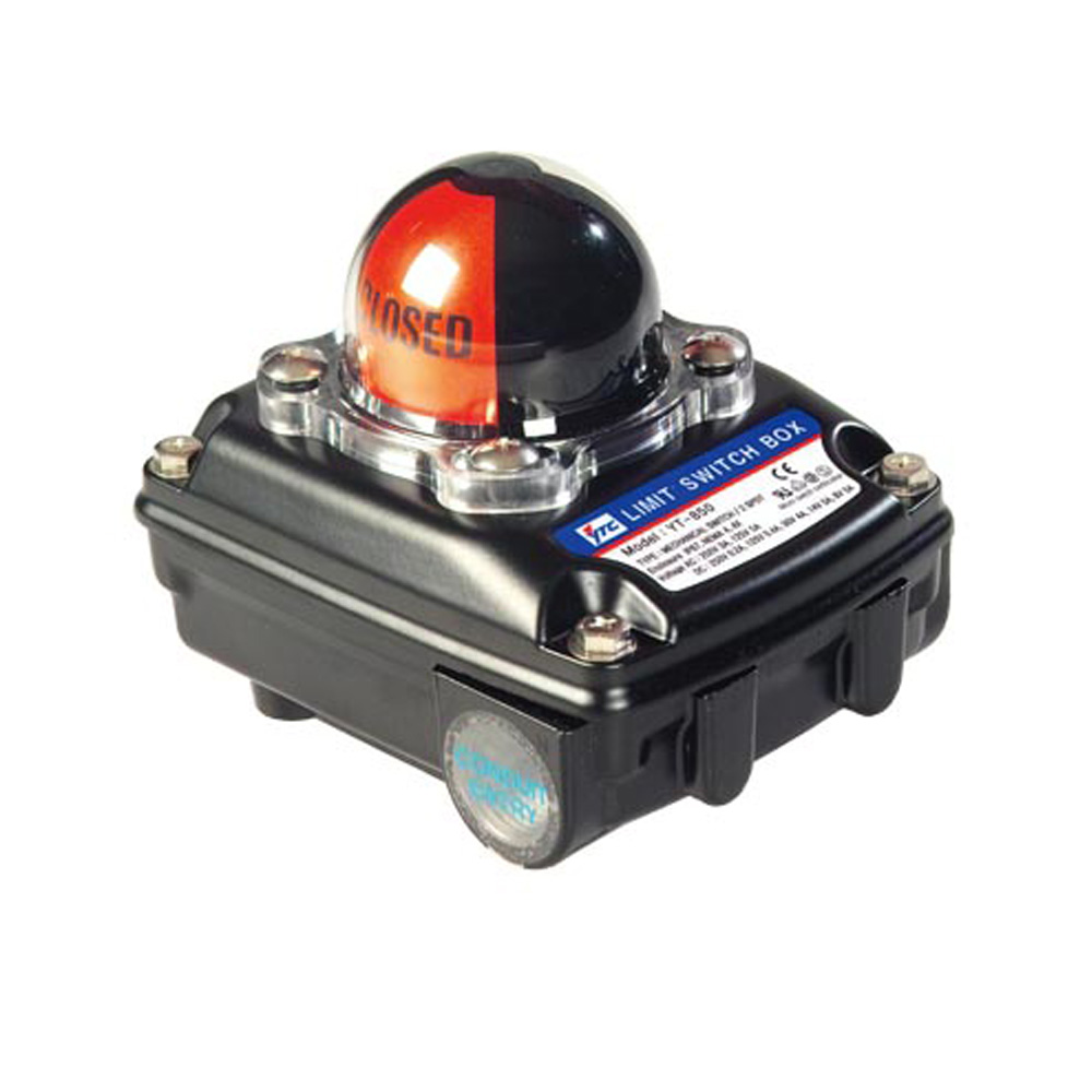 Rotork YT-850 Series Pneumatic Limit Switch Valve Actuator