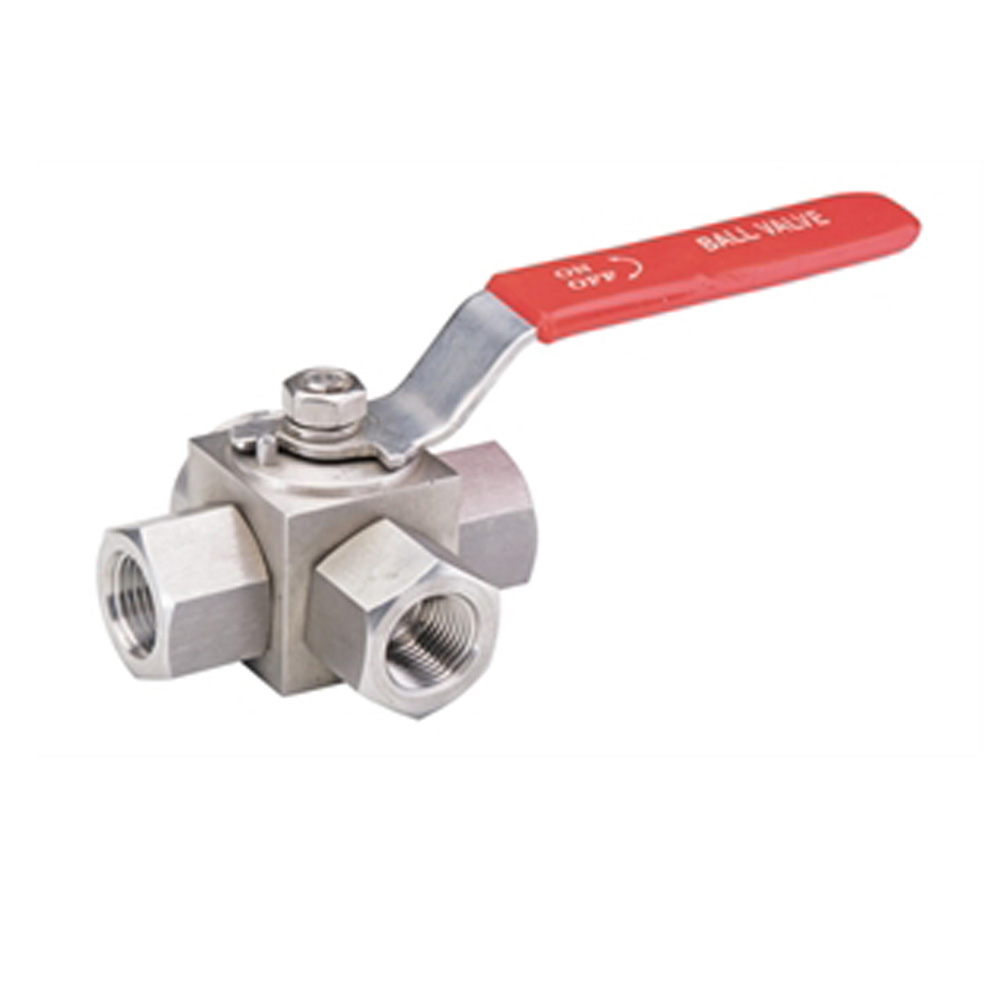 3 WAY BALL VALVE (SIDE PORT INLET)